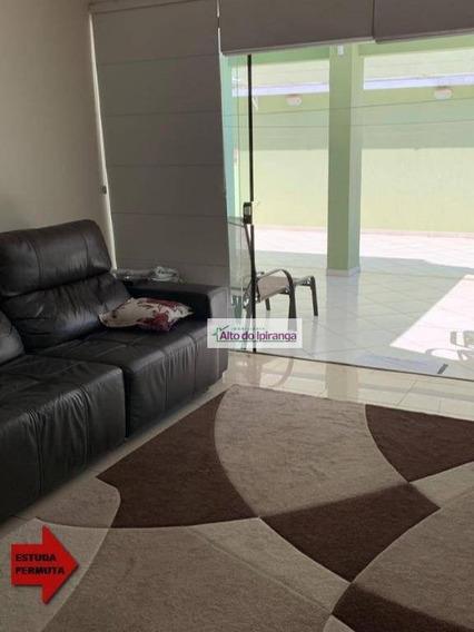 Sobrado Com 4 Dormitórios À Venda, 372 M² - São José - São Caetano Do Sul/sp - So0877