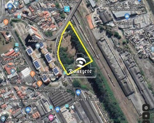 Área À Venda, 10041 M² Por R$ 6.500.000,00 - Jardim Marta - Santo André/sp - Ar0007
