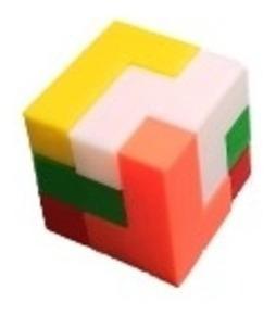 Cubo Puzzle 3d Quebra Cabeça Mini Lógica Geometria