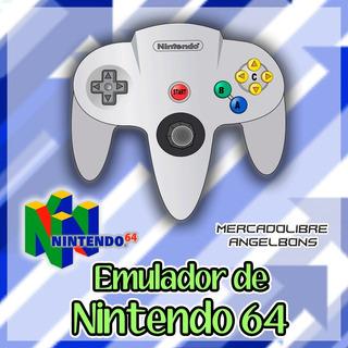 Emulador Nintendo 64 +497 Juegos Para Pc Y Android
