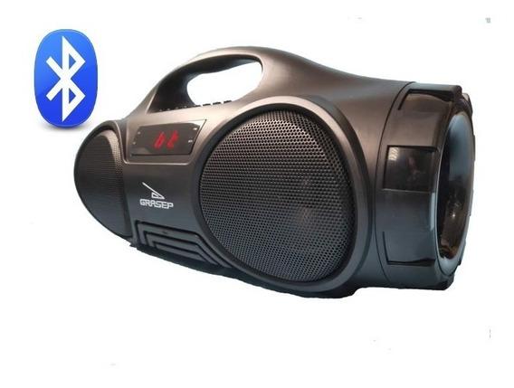 Caixa De Som Amplificada Portátil Usb Mp3 Radio Fm D-q13
