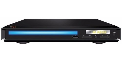 Dvd Player Qfx Mp3 Cd-r Rw Usb Audio Video Canal 2.