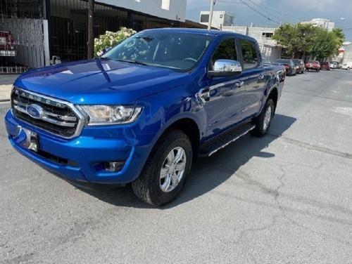 Imagen 1 de 10 de Ford Ranger Xlt Diesel 2021 Azul