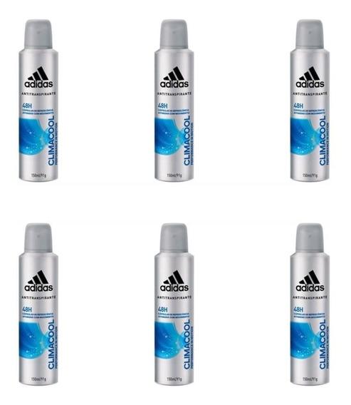 adidas Climacool Desod. Aerosol Masculino 150ml (kit C/06)