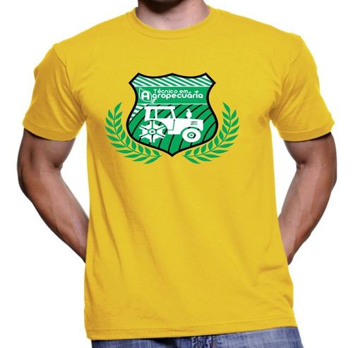 Imagem 1 de 1 de Camiseta Camisa Curso Tecnico Em Agropecuária