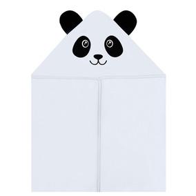 Toalha Com Capuz Para Bebê Panda - Hug