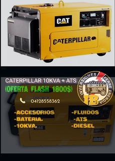Planta Eléctrica Caterpillar 10kva +ats