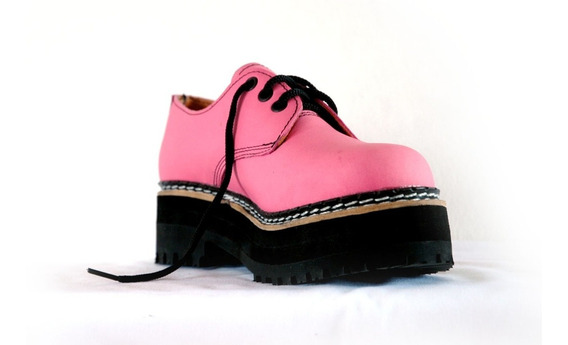 Zapatos Dirty Boots Base Triple T:38-41, Cuero /eco