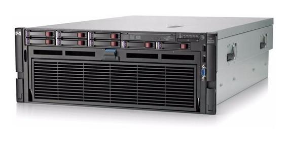 Servidor Hp Dl580 G7 4x Xeon X7560 Octacore 4 Sas 300 128gb