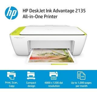 Impresora Multifunción Hp 2135 Todo En Uno Escaner Copia Col