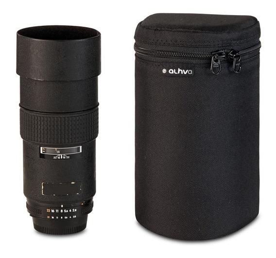 Estojo Para Lente 75-300 Mm - Porta-lente 75-300 Mm Alhva Gg