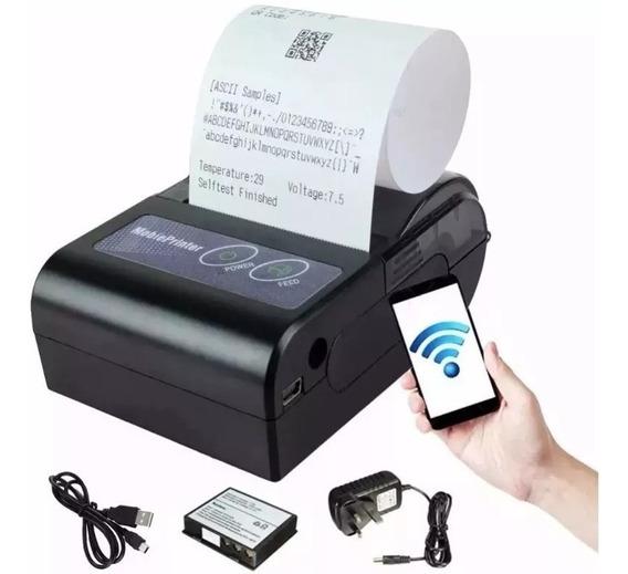 Mini Impressora Térmica Android Bluetooth Para Apostas