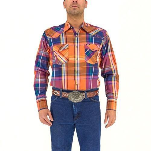 Camisa Vaquera Wrangler Hombre Painted Desert G97