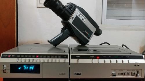 Cámara Video Vhs Rca Videocámara Filmadora Rca Coleccion