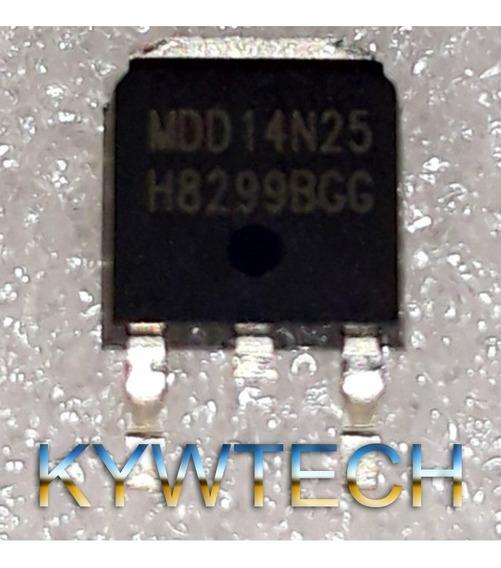 Transistor Mosfet Mdd14n25 14n25 Smd To252 Novo Original!