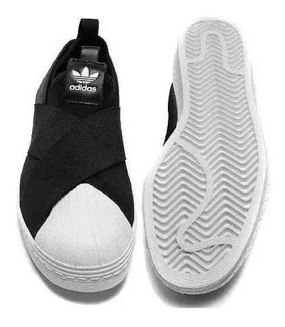 Tênis Adidass Elastico Slip On Promoçâo - Todos Tamanhos