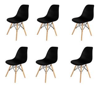 Silla Eames De Comedor Modernas Nordicas X6 Unidades