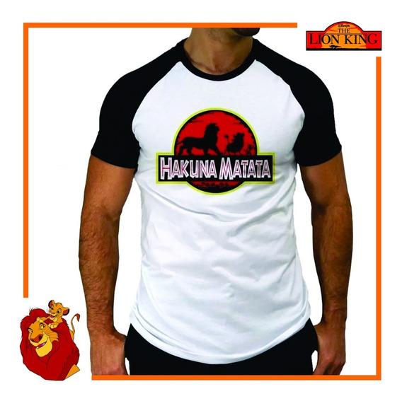 Camiseta Rei Leão Hakuna Matata Divertida Engraçada