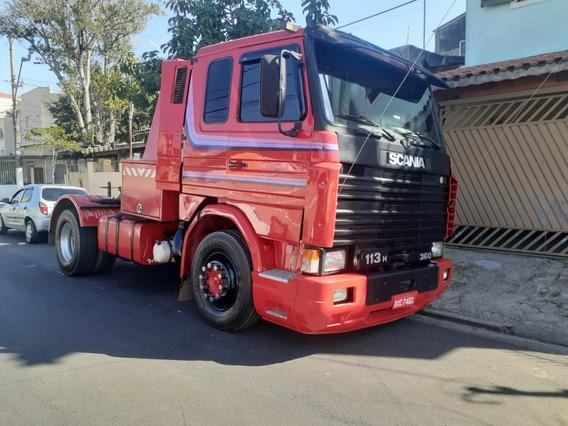 Scania R 113 360 1994 Guincho Lança 0 Graus E Quinta Roda