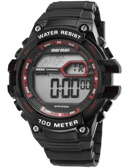 Relógio Digital Mormaii Mo3480a/8r Water Resistant 100m