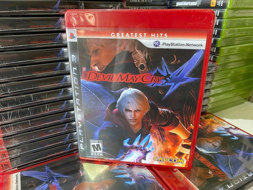 Devil May Cry 4 Dmc Hits Ps3 Game Mídia Física Original + Nf