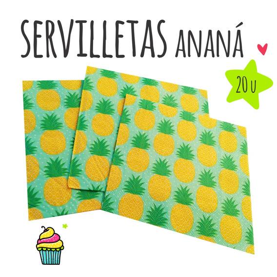 Servilletas Ananá X 20