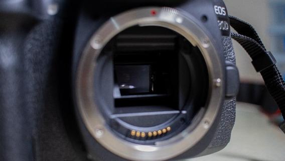Canon 80d + Lente 24mm
