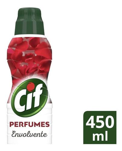 Limpeza De Pisos Cif Perfumes 450 Ml Envolvente
