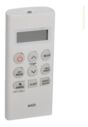 Control Remoto Aire Acondicionado Split LG A420 Frio Solo Ak