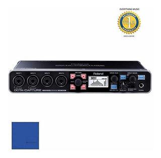 Roland Octa-capture High-speed Usb Audio Placa Microfiber ®