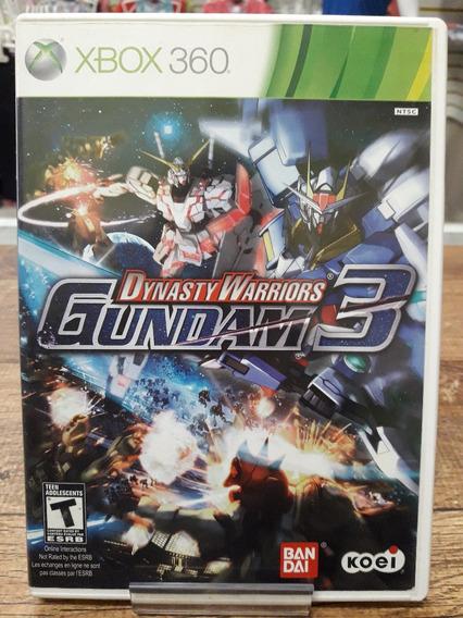 Jogo Xbox 360 Seminovo Dynasty Warriors Gundam 3