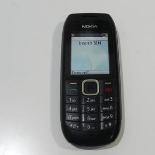 Nokia 1616 Rádio Fm, Viva-voz Desbloqueado-usado C/ Garantia