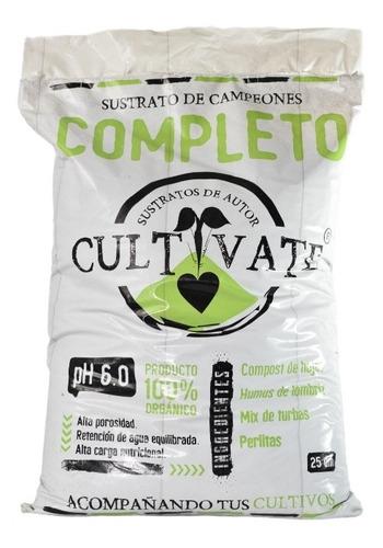 Sustrato Cultivate Completo 25l