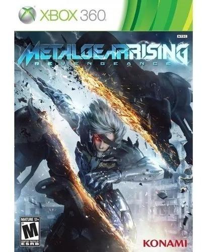 Metalgearrising Xbox 360 Midia Fisica + Brinde