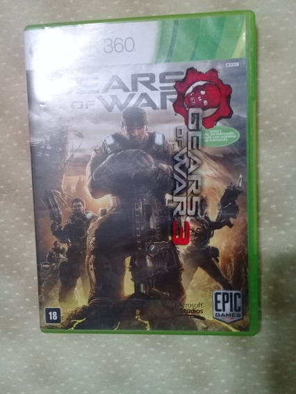 Gears Of War 3 Xbox 360.