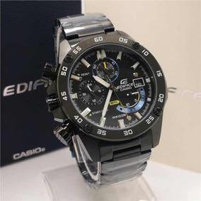 Relógio Casio Efr-558 Black Preto Novo Modelo