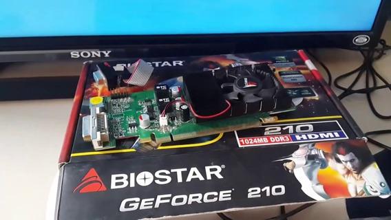 Placa De Video Geforza 210 Biostar 1gb Ddr3