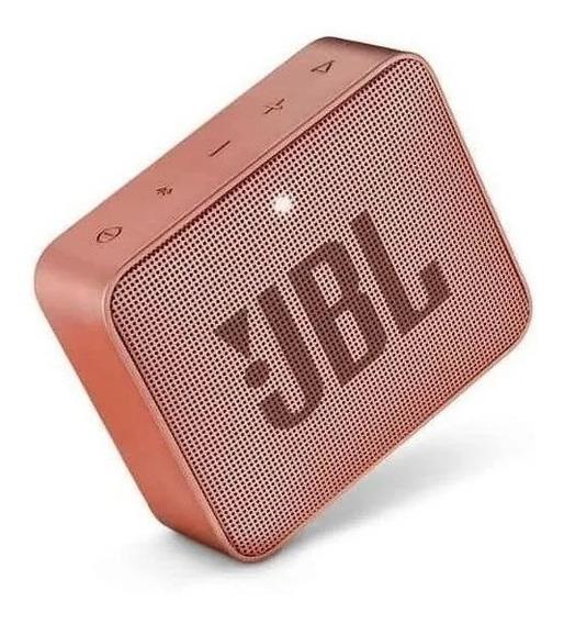 Caixa De Som Bluetooth Jbl Go 2 Sunkissed Cinnamon Promoção
