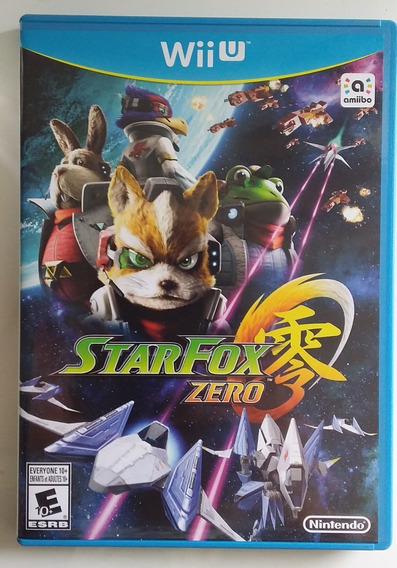 Star Fox Zero - Wii U - Mídia Física (usa), Com Manuais.