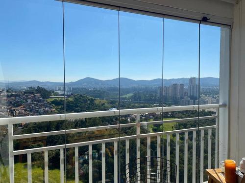 Imagem 1 de 30 de Apartamento Com 2 Dormitórios À Venda, 85 M² Por R$ 600.000,00 - Jardim Tupanci - Barueri/sp - Ap1444