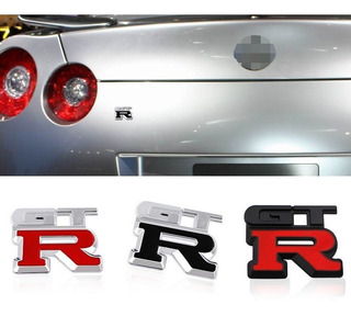 Logo Emblema Metalico Gtr Nissan Nismo Tiida Tsuru Tuning