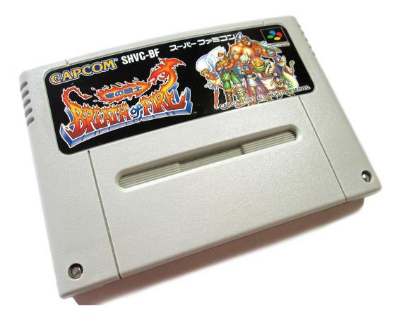 Breath Of Fire Original Nintendo Para Super Famicom
