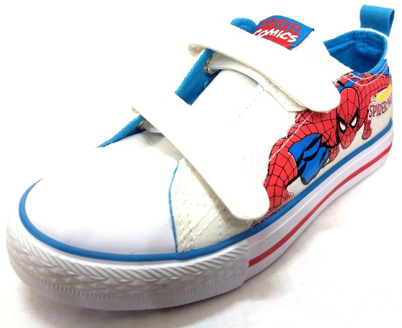 Zapatillas Marvel Atomik Spiderman Low Con Abrojo