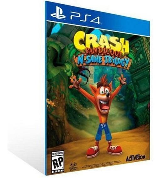 Crash Bandicoot N. Sane Trilogy - Ps4 - 2 - Envio Imediato