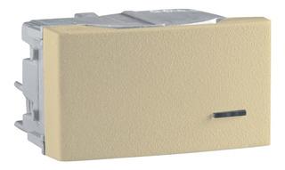 X4 Interruptor Unipolar 16 Ax-250v Marfil Plasnavi Roda