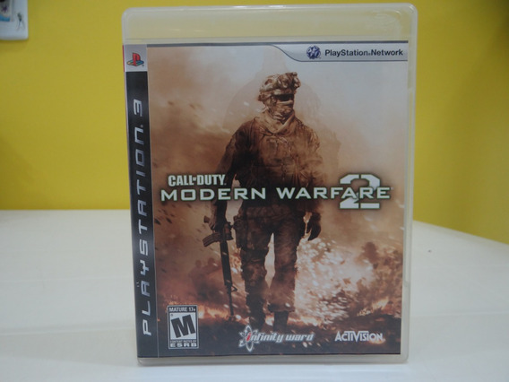 Call Of Duty Modern Warfare 2 - Ps3 - Completo!