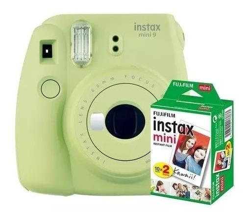 Câmera Fuji Instax Mini 9 Instantânea 10 Foto + Nf