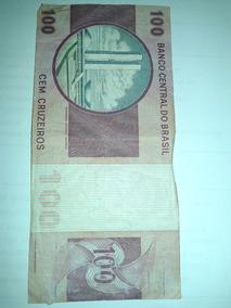 Cédula Cem Cruzeiros Linda