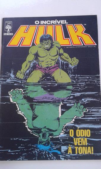 Revista O Incrível Hulk Nº 50 Editora Abril Bom Estado
