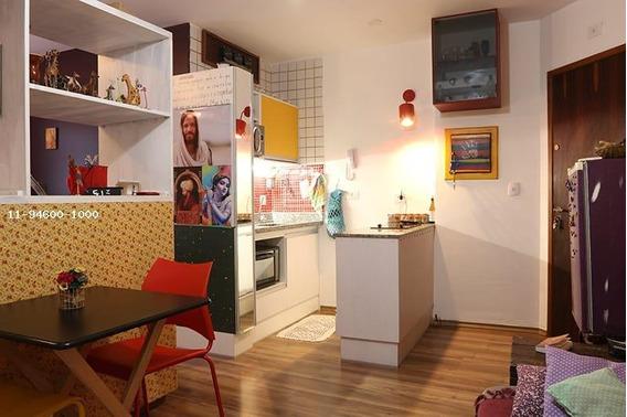 Kitnet Para Locação Em São Paulo, Centro, 1 Dormitório, 1 Banheiro - Carmelita_1-1251946
